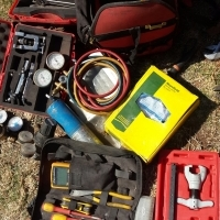 Aircon tools / guages and material for sale