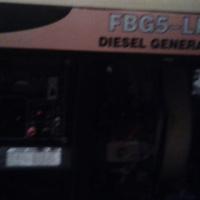 Ellies FBG5-LHE Diesel Generator 5.5kva