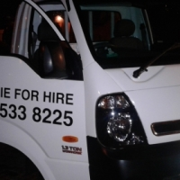 Bakkie for hire!