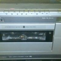 ou lg video masjien en n ou sharp video cassete recorder