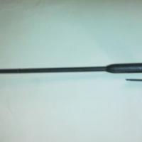 Metal walking stick