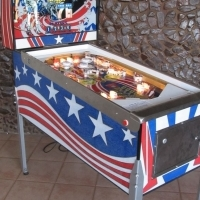spirit of 76 pinball machine