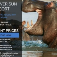 SABI RIVER SUN  DECEMBER 2016 &  ALL YEAR TIMESHARE CHALETS TO RENT.