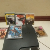 PS 3 with 6 games