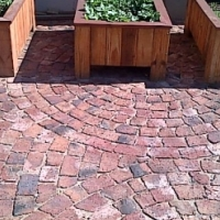 Planter box Shenaz series 0980 3 quarter flat - Treated