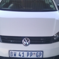 2013 Volkswagen Polo Vivo 1.4 3Doors, Factory A/C, C/D Player, Central Locking, White in Color, 6400