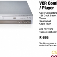 LG RC68223W DVD VCR Combo Recorder / Player