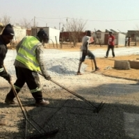 Parking lot tar surfaces  Centurion  • Tennis  Combo Coarts  Middleburg     • Road Construction Polo
