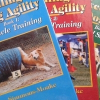 Excelling at Dog Agility : Book 1,2,3 - Jane Simmons-Moake. (All for the Price), used for sale  East Rand