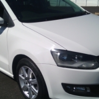 2014 Volkswagen Polo6 Sunroof, 1.4 Engine Capacity, 5Doors, 6Speed Factory A/C, C/D Player, Central