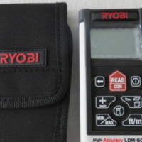 Ryobi LDM-500 Laser Distance Measure LIKE NEW
