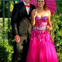 Cerise Pink Ballgown