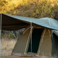 Bushtec gemsbok canvas tent