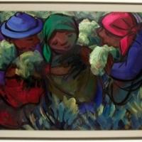 HENNIE NIEMANN Snr Flower pickers(1993)