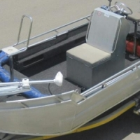 ALLEY CAT ALUMINIUM HULL WITH 60HP BIGFOOT EFI