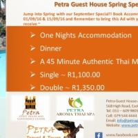 Petra Guest House Spring Special!!