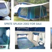 Sprite Splash 2002 Caravan for Sale, excellent condition