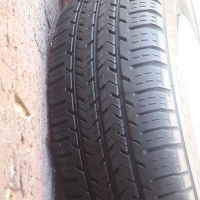 Set 2016 Vito Steel Rims Wheelcaps with 80% tread 205/65/16 Commercial Tyres