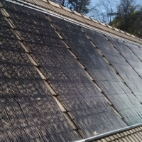 Randburg Gauteng Solar Pool Heating Panels Installed