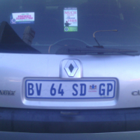 Renault Clio 1.4 2006 Model, 5Doors, Factory A/C, C/D Player, Central Locking, Silver in Color, 8000