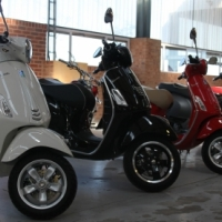 A spectacular selection of Vespas on auction at Aucor Auctioneers this Saturday, 10h30