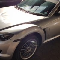 2009 Mazda R8 – High power for sale Sunroof, Leather interior, electric windows & mirrors