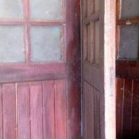 Vintage 4 Panel Garage Door