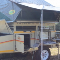 2016 6x12 Refrigerator Mobile Trailer WITH Generator