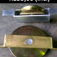 Electroplated gate wheels