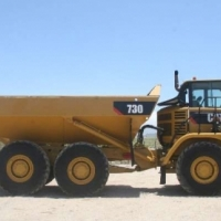 ADTs CAT Refurbished Cat 730 ADT ; TWO TO CHOOSE FROM