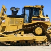 Dozers Caterpillar D8R Diff Steer; Multi Shank Single Tilt Ripper