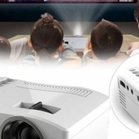 *LOCAL STOCK* 400LM HD Home Theater LED LCD Mini Projector Cinema USB HDMI SD AV Video