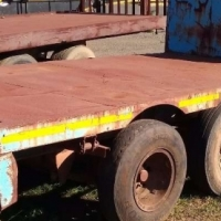 2 x Axle Pup Trailer