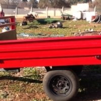 farm trailer / plaas wa