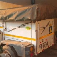 Eco 3 4x4 camping trailer