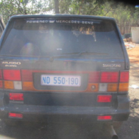 Ssangyong Musso breaking for parts