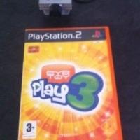 Playstation 2 eyetoy with eye play 3