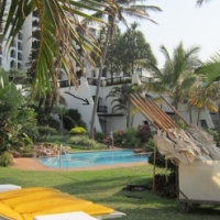Two sleeper Timeshare unit for SALE (for life) at 4 * Cabana Beach Resort in Umhlanga.