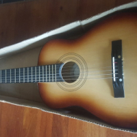 Childs Learning Guitar