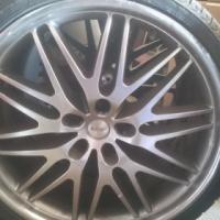 Rims.  TSW 245/30ZR20. yokohama tires.