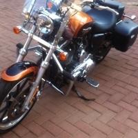 Harley davidson sportster: 2015 Model 1200cc