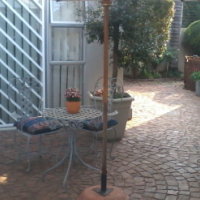 MODERN, Neat,Safe&Peaceful, Stand Alone, 1 Bedroom Garden Flat with Lovely Patio in East of Pretoria