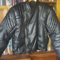 Stunning Quilted Leather Bikers Jacket, used for sale  West Rand