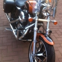 Harley davidson sportster 2015 Model 1200cc