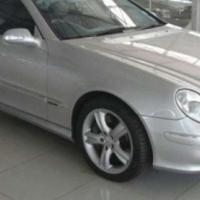 Mercedes Benz CLK clk500 avantgarde auto