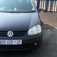 Golf 5 1.4 Model 2006,5 Doors factory A/C And C/D Player