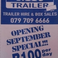 Trailer Hire and Box Sales