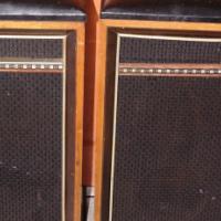 2 Brown Speakers S020857C #Rosettenvillepawnshop
