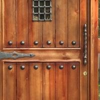 Customise a Door Using Decorative Resin Studs