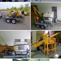 Borehole Drilling Machine // Boremaster 120